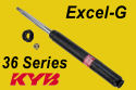Kayaba - KYB Excel-G Gas Shock Absorber - 36 Series