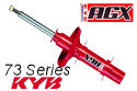 Kayaba - KYB AGX Adjustable Shock Absorber - 73 Series