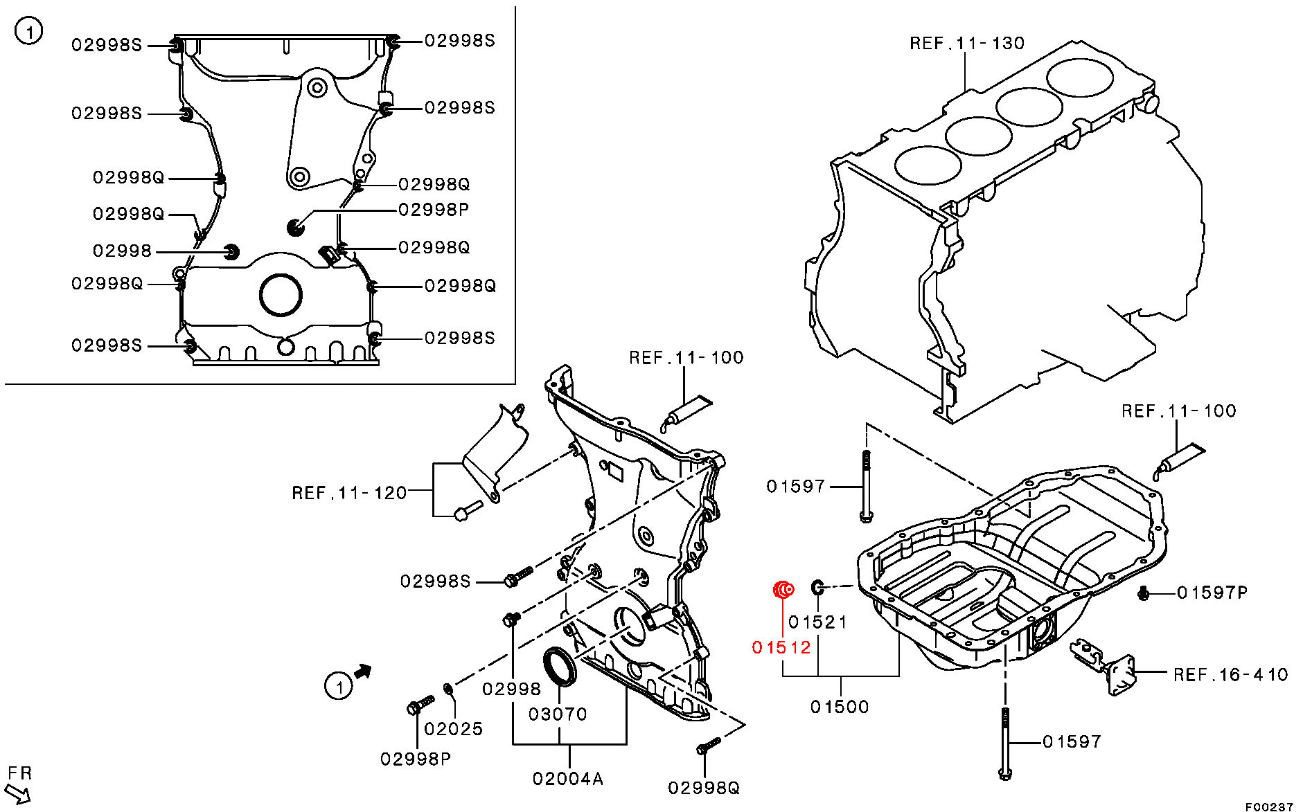 Viamoto Car Parts Mitsubishi Lancer Evo 2008 Engine Diagram For 10 Sump Exploded Click Here Part Number