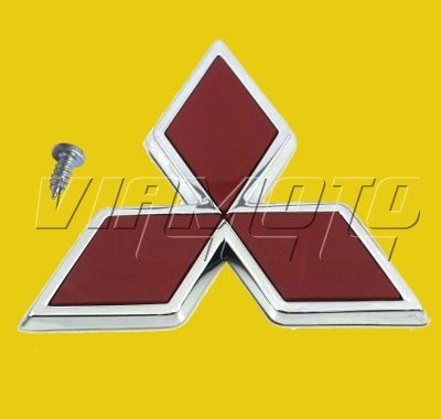 Viamoto Mitsubishi Car Parts Front Mitsubishi Diamond Emblem Badge