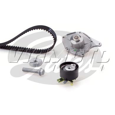 Gates Cambelt Kit - Timing Belt Kit incl Waterpump - KP25578XS