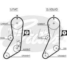 Gates Cambelt - Timing Belt - Balance Belt - 5020