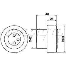 Gates Cambelt Kit - Timing Belt Kit - K015304