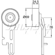 Gates Micro V Belt Kit - K015PK1030