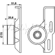 Gates Micro V Belt Kit - K015PK1260