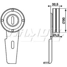 Gates Micro V Belt Kit - K016PK1078