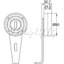 Gates Micro V Belt Kit - K026PK1078