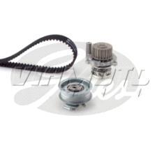 Gates Cambelt Kit - Timing Belt Kit incl Waterpump - KP15489XS-2