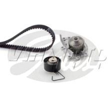 Gates Cambelt Kit - Timing Belt Kit incl Waterpump - KP15497XS