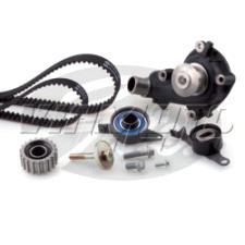 Gates Cambelt Kit - Timing Belt Kit incl Waterpump - KP25451XS-4