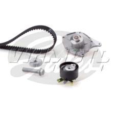 Gates Cambelt Kit - Timing Belt Kit incl Waterpump - KP25578XS