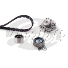 Gates Cambelt Kit - Timing Belt Kit incl Waterpump - KP25600XS