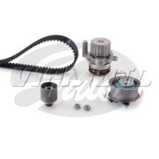 Gates Cambelt Kit - Timing Belt Kit incl Waterpump - KP55569XS-1