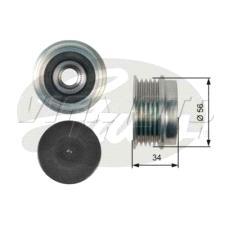 GATES OAP7037 Freewheel Alternator