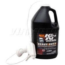 K & N - Heavy Duty Filter Cleaner - DryFlow 1 Gal - 128 oz 99-0638