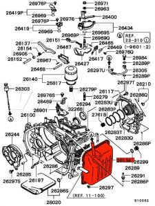 Tiptronic A/T Gearbox Oil Pan - FTO