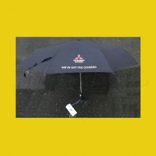 Genuine Mitsubishi Umbrella - Black Perfect to Stick in the Dash