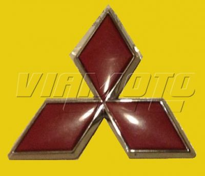 Viamoto Mitsubishi Car Parts Rear Mitsubishi Diamond Emblem Badge