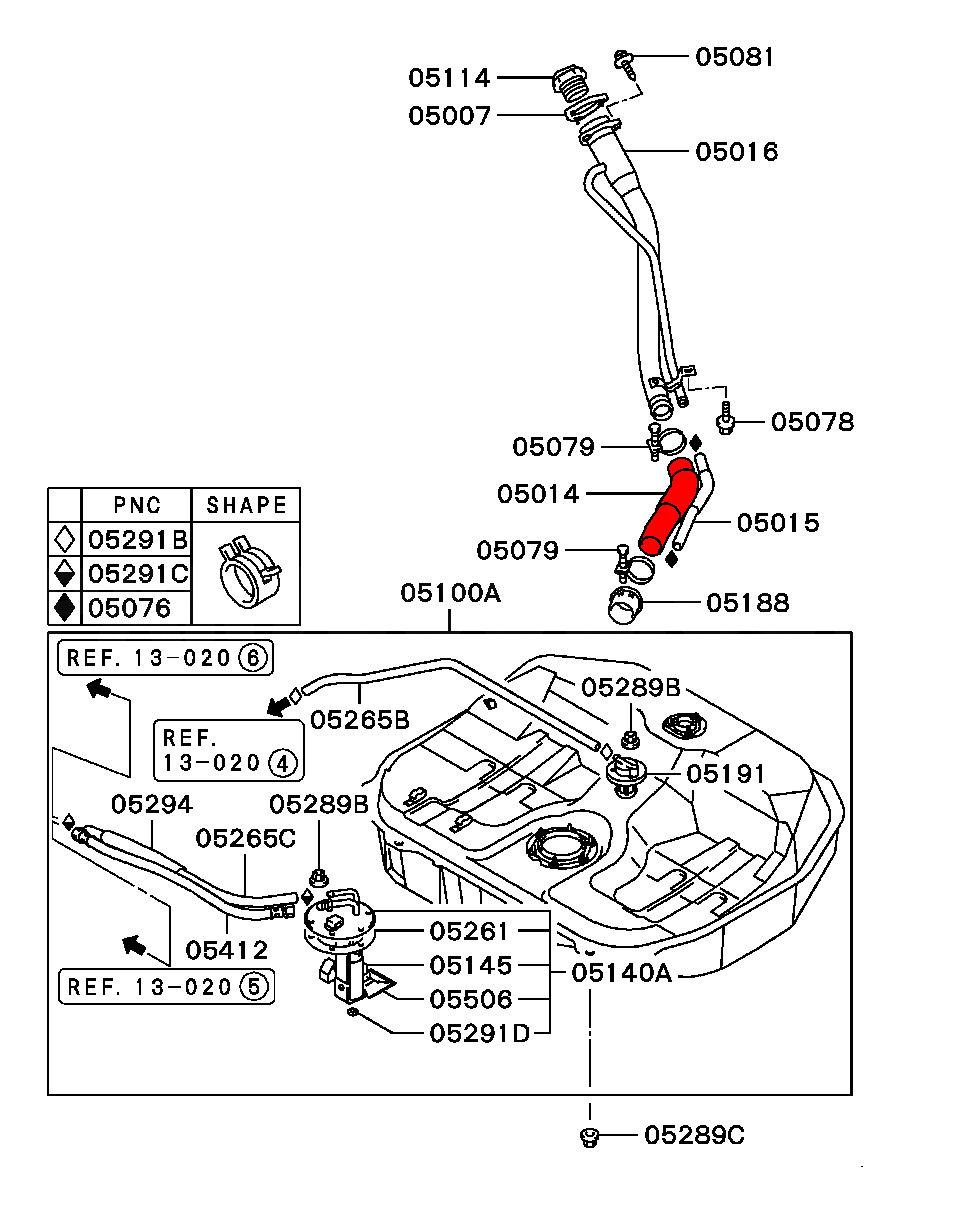 Passenger Compartment Fuse Diagram 2001 Mitsubishi Eclipse Box Gs Auto 1998 Mirage 2002 Block