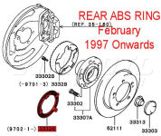 Rear ABS Ring - FTO February 1997 Onwards