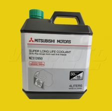 Mitsubishi Super Long Life Coolant - MZ313950 - 4 Litres Premixed 30%