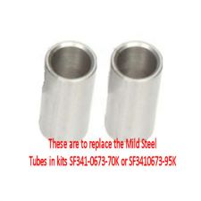 Superflex - Suzuki Swift MKII 1989-1999 Stainless Steel Tubes Kit of 2