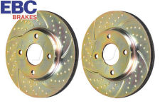 EBC 3GD Brake Discs EBC Turbo Groove Brake Discs - GD639  - Pair