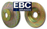 EBC 3GD Brake Discs EBC Turbo Groove Brake Discs - GD1109  - Pair