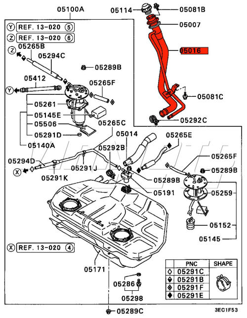 mitsubishi aftermarket body parts