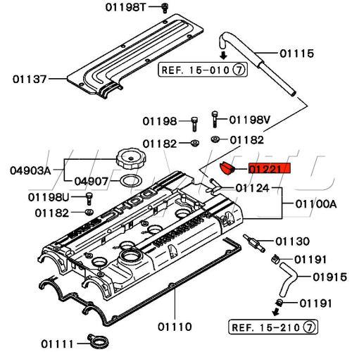 viamoto car parts  mitsubishi lancer evo 2 3 ce9a parts