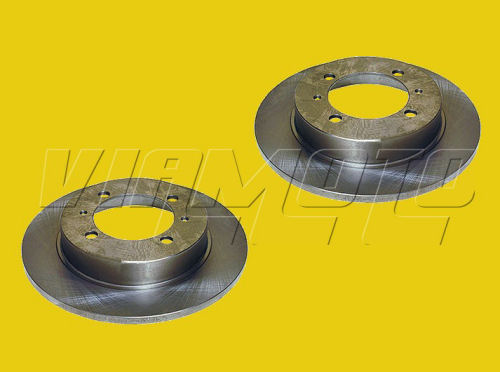 Rear Brake Discs - Pair - Mitsubishi Lancer EVO 2 3 CE9A