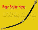 Rear Brake Hose - Mitsubishi Lancer GSR 1.8 4WD Turbo CD5A
