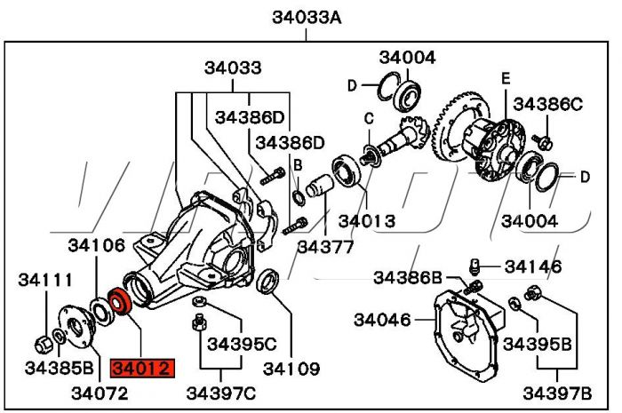 Toyota Matrix Parts Diagram Com