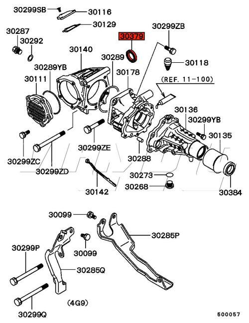 Viamoto Mitsubishi Car Parts Transfer Box To Gearbox Seal