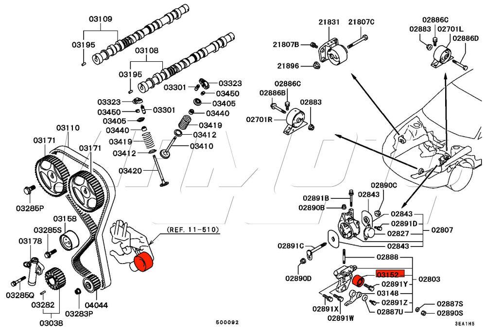 Viamoto Car Parts  Mitsubishi Lancer Evo 2 3 Ce9a Parts  Evo 2 3 Ce9a