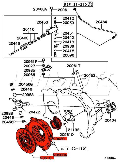 Viamoto Car Parts  Mitsubishi Lancer Evo 4 Cn9a Parts  Evo