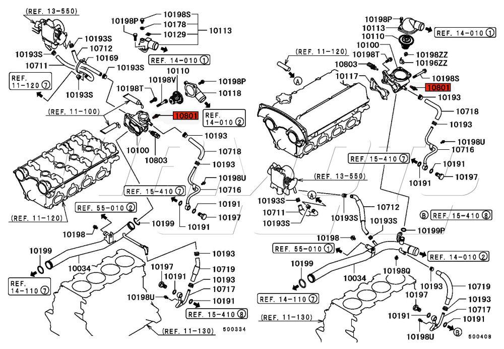 viamoto car parts  mitsubishi lancer evo 5 6 cp9a parts  evo 5 6 cp9a  heating and
