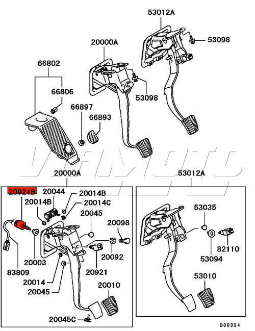 Viamoto Car Parts  Mitsubishi Lancer Evo 9 Ct9a Parts  Evo