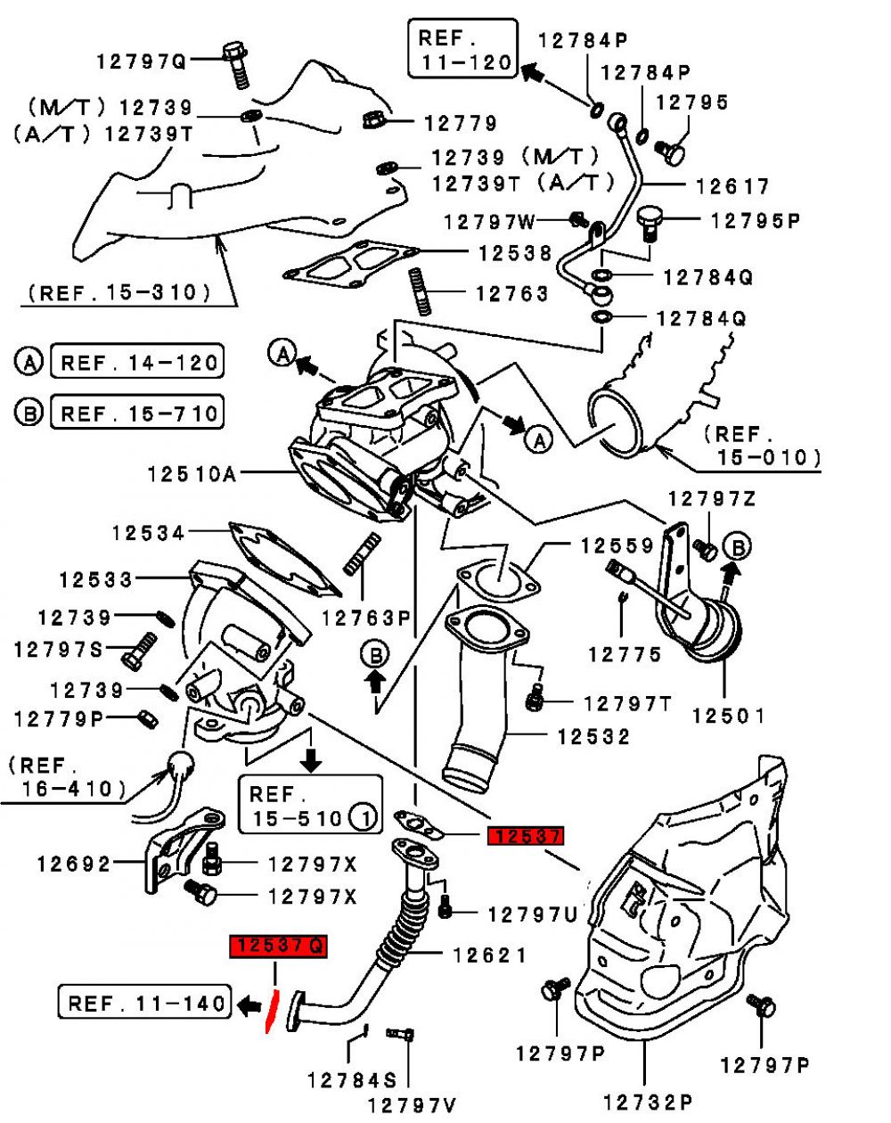 Viamoto Car Parts Mitsubishi Lancer Evo 9 Ct9a X Engine Diagram Part Numbers