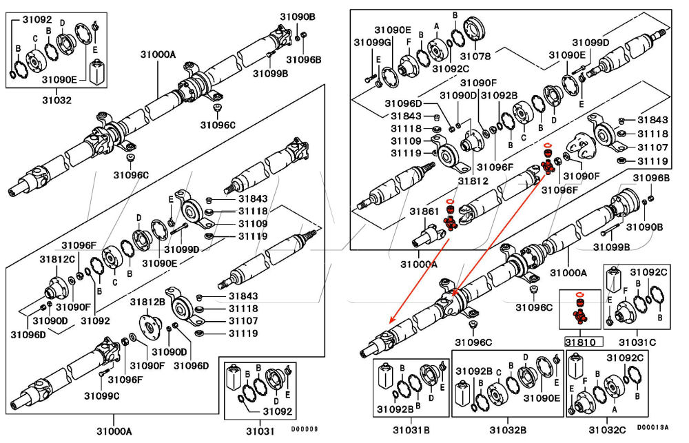 evo 7 8 universal joint in propshaft location evo 2050 wiring diagram database wiring diagram