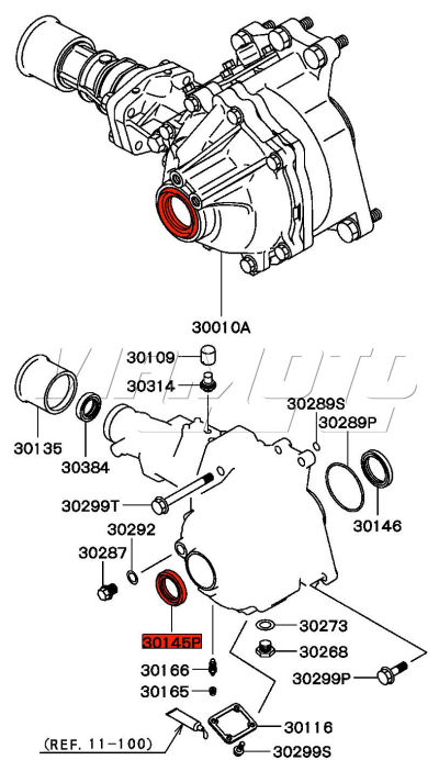 mitsubishi 3000gt suspension diagram