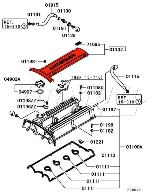 Evo X Engine Diagram