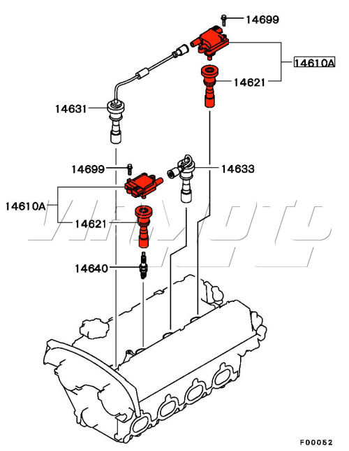 Evo Ignition Coil Pack Location