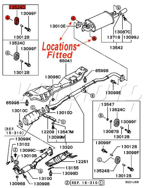 viamoto car parts mitsubishi lancer evo 2 3 ce9a parts evo 2 3 rh viamoto co uk 2006 mitsubishi endeavor exhaust diagram mitsubishi evo x exhaust diagram