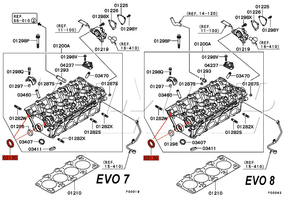 evo78 cam seals location evo 8 engine diagram database wiring diagram