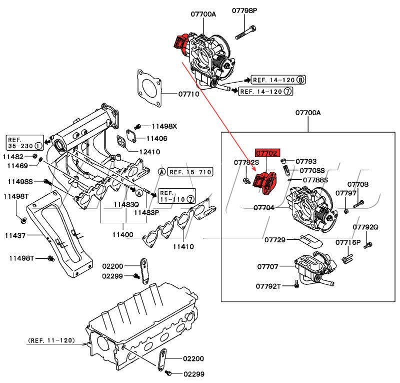 ford f 150 throttle position sensor location