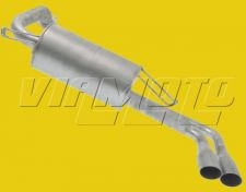 Exhaust Rear Backbox - FTO 2.0 V6 DE3A GPX/GPvR Mivec Models