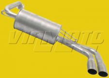 Exhaust Rear Backbox - FTO 1.8/2.0 DE2A DE3A GS/GR Non Mivec Models