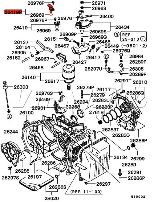 Products on 2003 Mitsubishi Outlander Problems