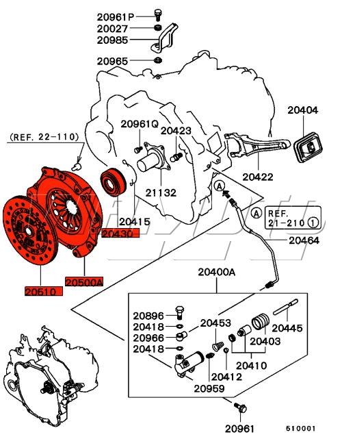 fto v6 clutch kit layout viamoto mitsubishi car parts fast road clutch kit mitsubishi fto clutch kit diagram at n-0.co